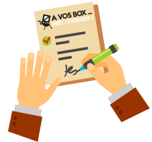 Contrat box stockage individuel